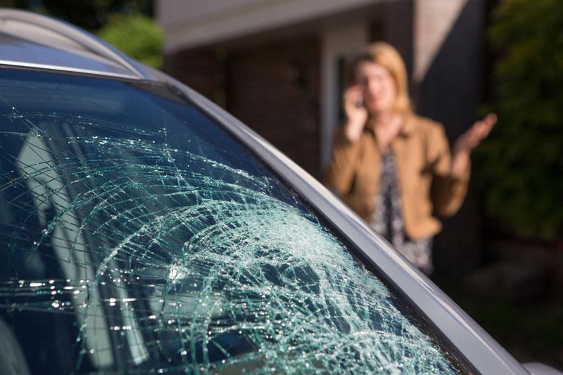 Windshield Damage Auto Insurance