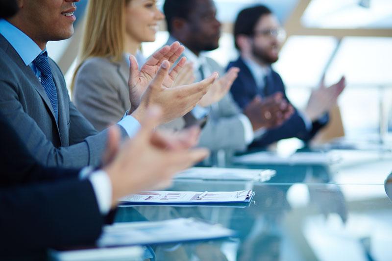 board of members in a meeting