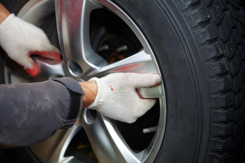 a car's tire