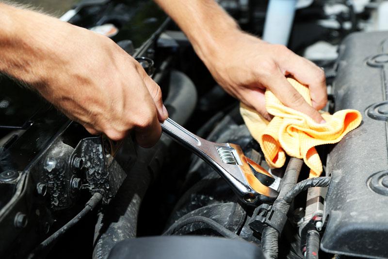 car repairs under the hood